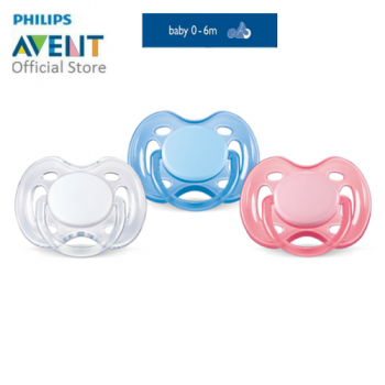 PHILIPS AVENT FREEFLOW PACIFIERS > BPA FREE - 0-6M TWIN PACK