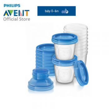 PHILIPS AVENT BREAST MILK STORAGE CUPS (SET)