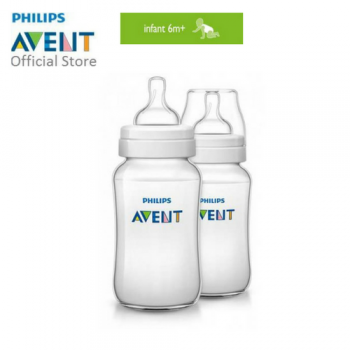 PHILIPS AVENT BABY BOTTLE (Classic,11OZ/330ML, TWIN PACK)