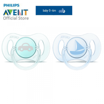 PHILIPS AVENT MINI PACIFIERS (0-3M, BOY)