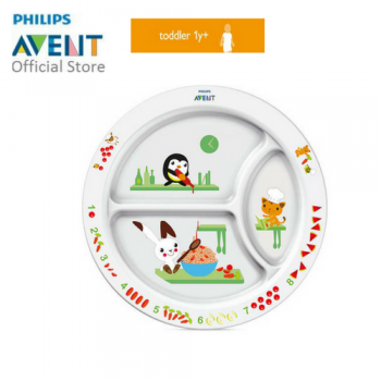 PHILIPS AVENT TODDLER DIVIER PLATE (12M+)