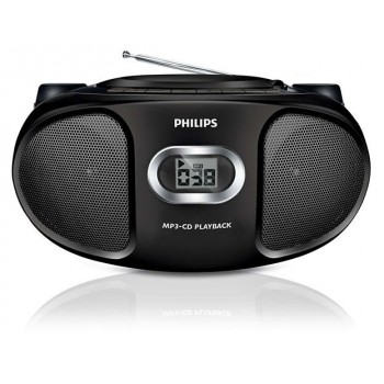 PHILIPS AZ 305 PORTABLE STEREO  CD PLAYER,MP3 PLAYBACK.