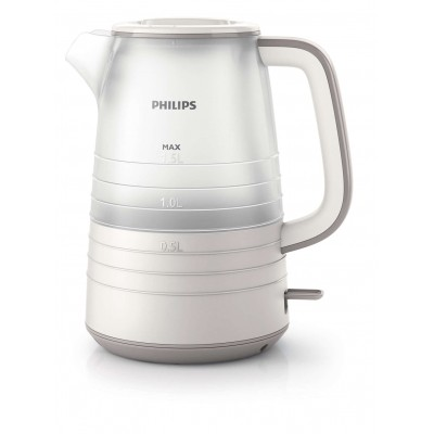 PHILIPS DAILY COLLECTION KETTLE 1.5 L 2200 W, PLASTIC