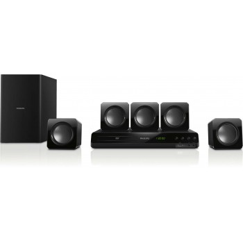 Philips 5.1 DVD Home theater HDMI ARC & USB 300W HTD3509