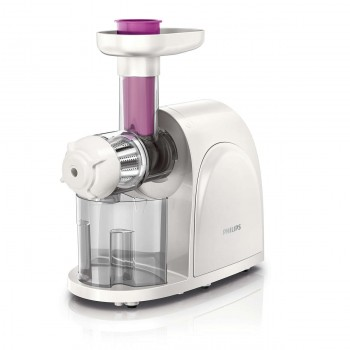 PHILIPS VIVA COLLECTION SLOW JUICER (150W, 2 DIRECTION BUTTON)