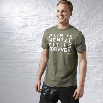 REEBOK PAIN IS MENTAL TEE