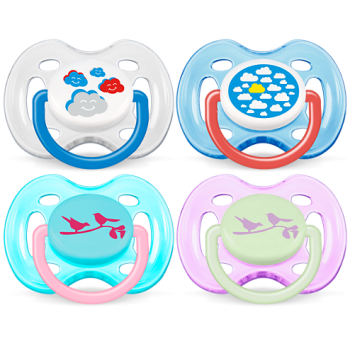 Avent Classic Pacifiers 0-6M Orthodontic (SCF172/18)