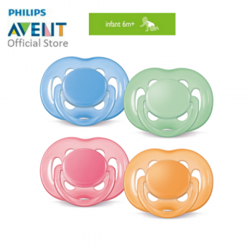 PHILIPS AVENT FREEFLOW PACIFIERS > BPA FREE - 6-18M TWIN PACK