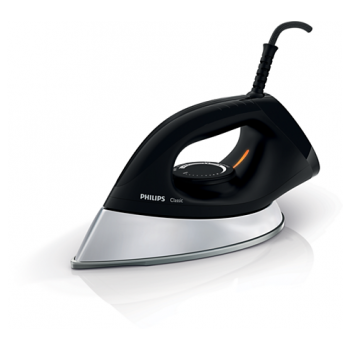 PHILIPS CLASSIC DRY IRON (1200 W, HEAVY WEIGHT)