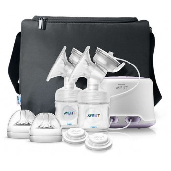 Philips Avent Comfort Double Electric Breast Pump SCF334/02 ( SCF334/02 )
