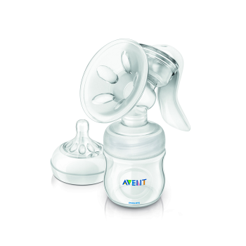 PHILIPS AVENT COMFORT MANUAL BREAST PUMP (4oz BOTTLE) **Free Premium