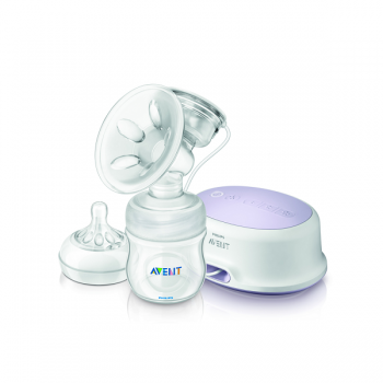 PHILIPS AVENT COMFORT SINGLE ELECTRIC BREAST PUMP**Free Premium
