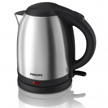 Philips Daily Collection Kettle (Polished Stainless Steel, 1.5L, 1800W) HD9306/03 ( HD9306/03 )